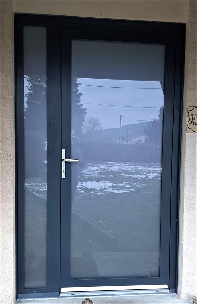 Portes - porte d entree alu et portes d entree pvc - Taravello