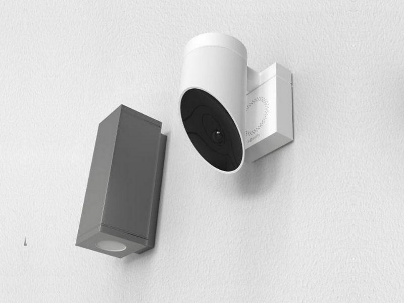 Caméra Outdoor somfy - system alarme maison - produit 1 - taravello