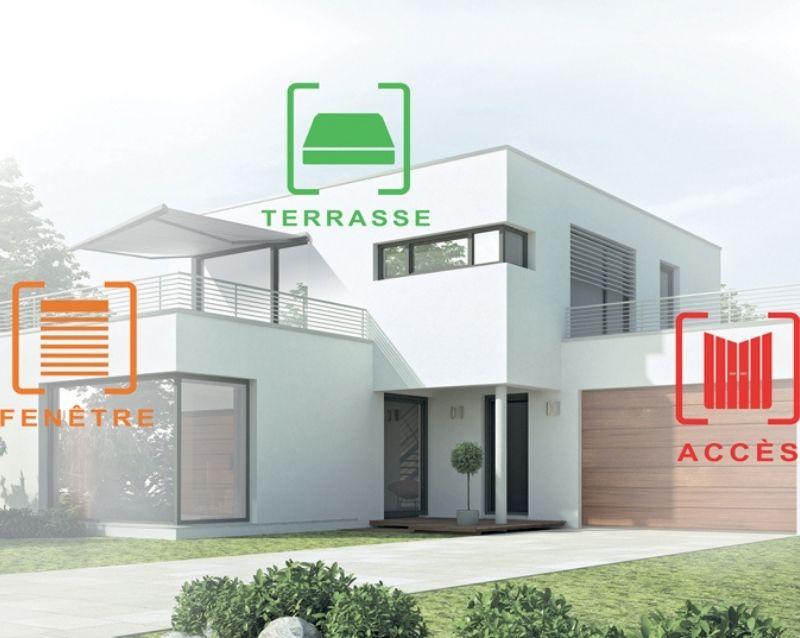 alarme somfy - system alarme maison - réalisation 2 - taravello