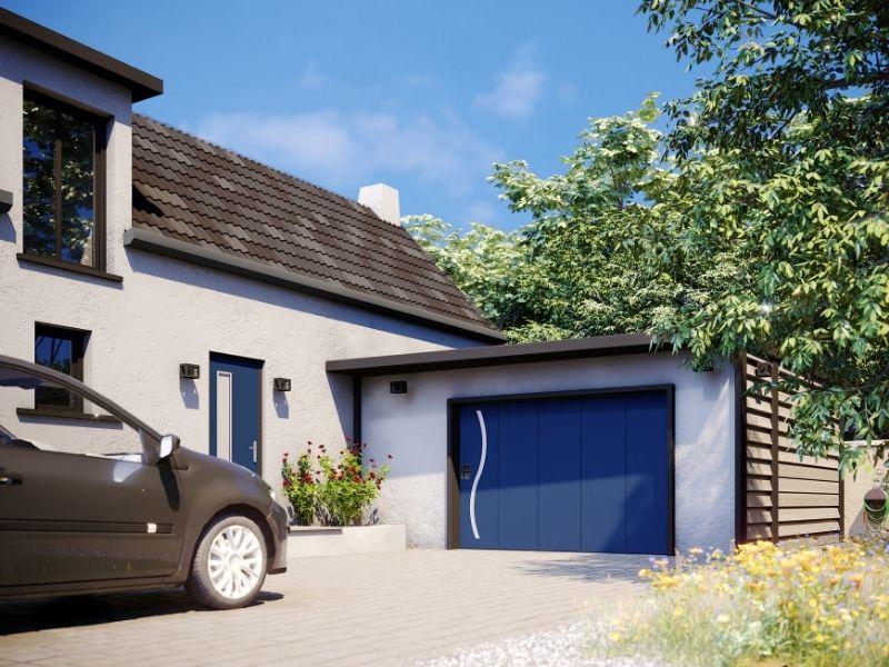 porte de garage latérale ZEUS - portes garage motorisées - produit 4 - taravello