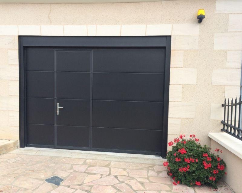 porte de garage - portes garage motorisées - realisation 1 - taravello