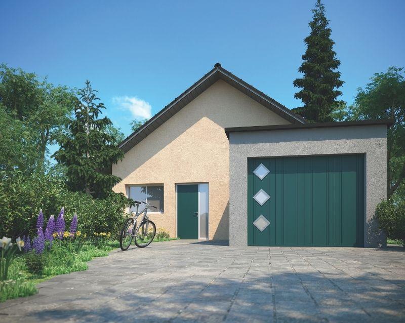 porte de garage - portes garage motorisées - realisation 2 - taravello