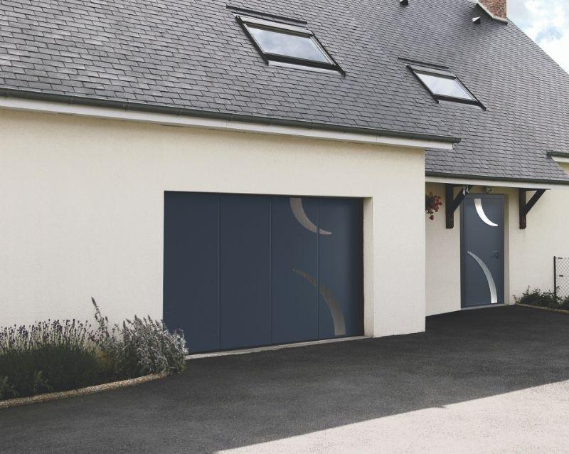 porte de garage - portes garage motorisées - realisation 4 - taravello