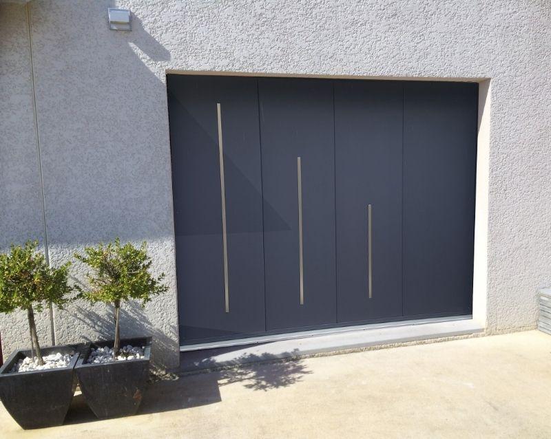 porte de garage - portes garage motorisées - realisation 5 - taravello