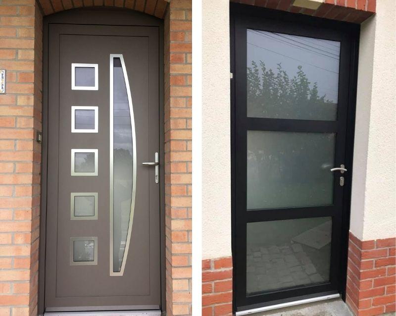 porte d'entrée - porte d entree alu - portes d entree pvc - réalisation - taravello (1)