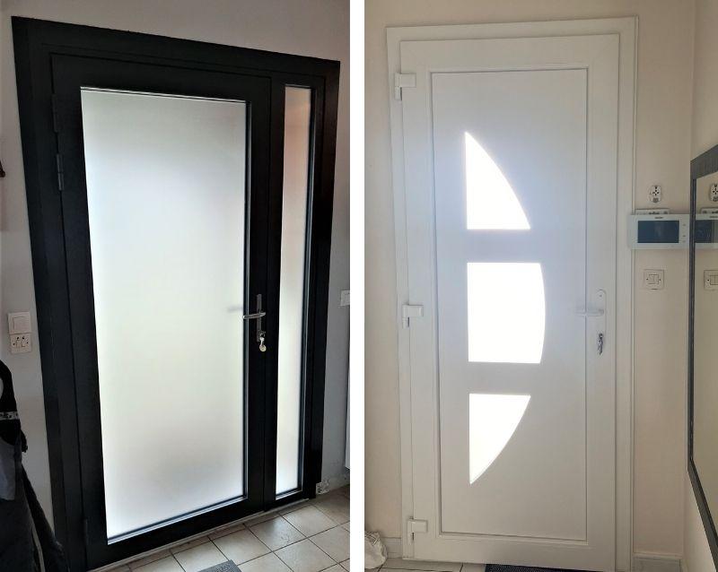 porte d'entrée - porte d entree alu - portes d entree pvc - réalisation - taravello (3)