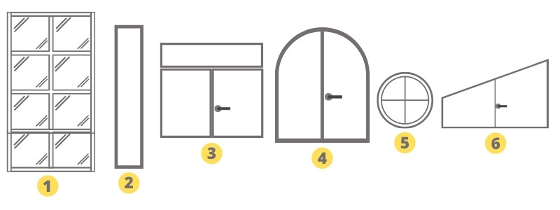 Modèles de fenêtres - fabricant de fenetre alu - fabricant fenetre pvc France - Ouverture fenetre - Taravello