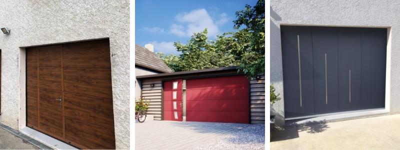 Modèles de porte de garage sectionnelle motorisee-Taravello