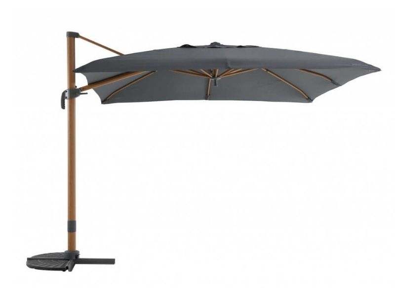 Parasol Déporté 3×3 Deluxe – Heat Transfer _ Mobilier de jardin - produit - Taravello