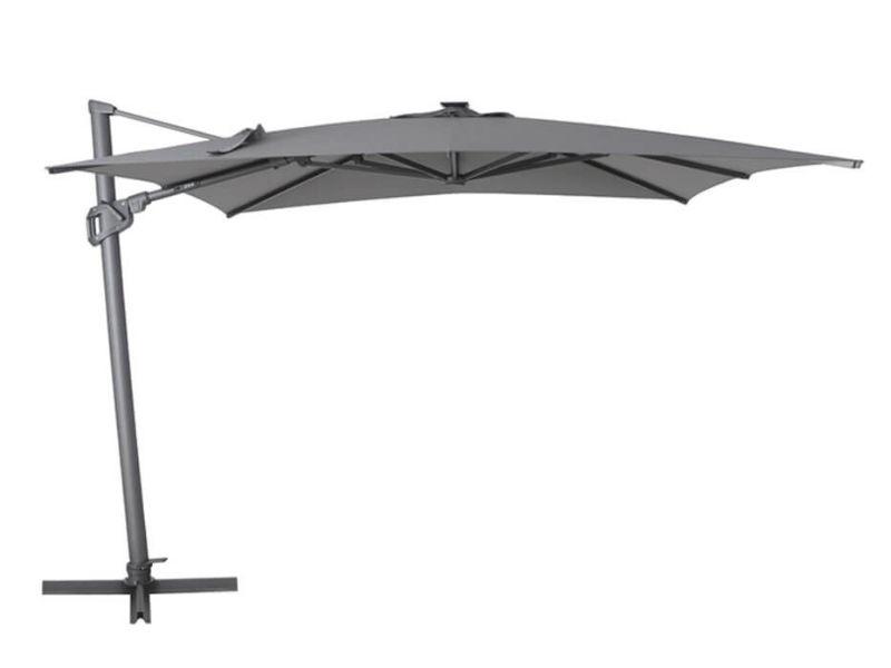 Parasol Déporté 3×3 Royal Sun _ Mobilier de jardin - produit - Taravello